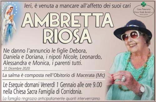 Ambretta Riosa