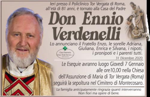 Don Ennio Verdenelli