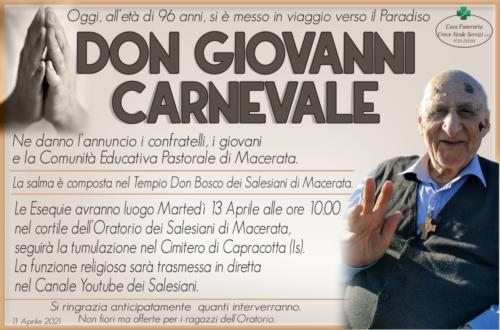 Don Giovanni Carnevale
