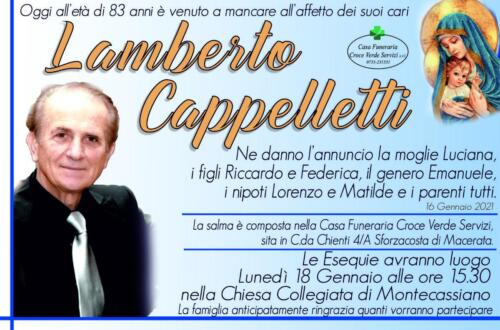 Lamberto Cappelletti