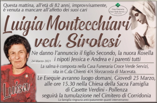 Luigia Montecchiari