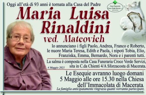 Maria Luisa Rinaldini