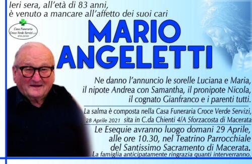 Mario Angeletti