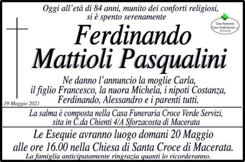 Pasqualini Mattioli Ferdinando