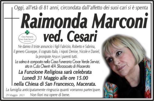Raimonda Marconi