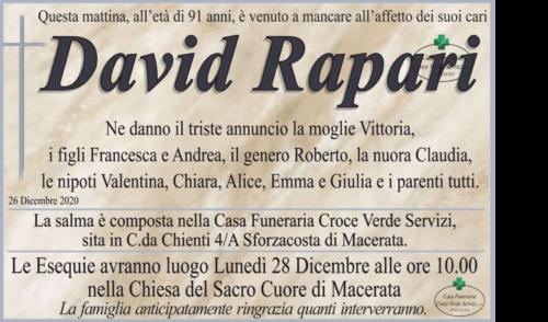 Rapari David