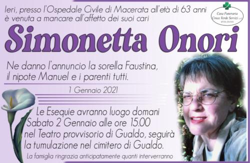 Sionetta Onori