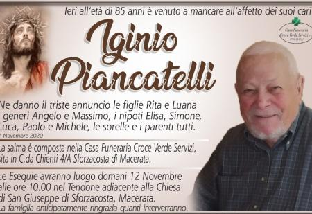 IGNIO PIANCATELLI